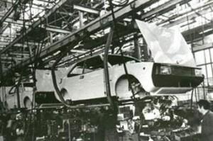 Seat 1200 Sport. Factoría Martorell. SEAT