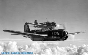 Avión SAAB 17B 1941-1955