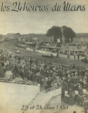 Poster Le Mans 1951