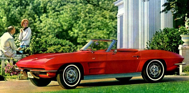 Foto: Catálogo del Corvette de 1963. Chevrolet