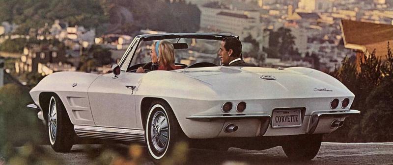 Foto: Catálogo del Corvette de 1964. Chevrolet