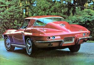 Foto: Catálogo del Corvette de 1966. Chevrolet
