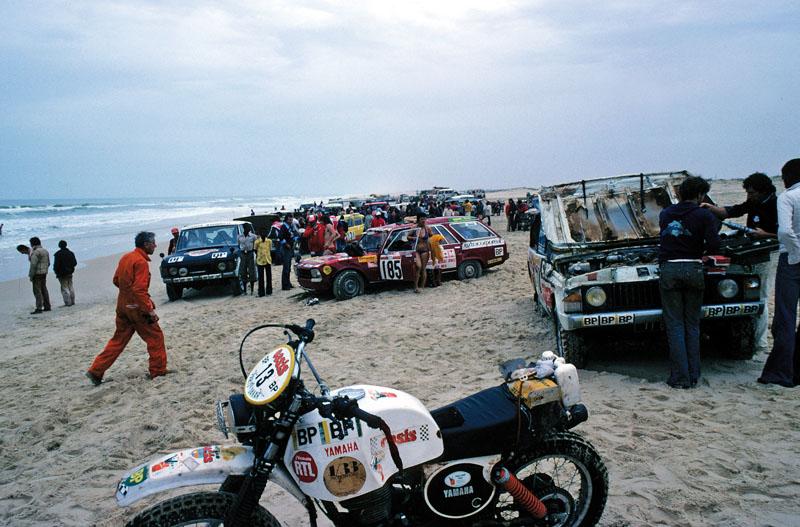 Dakar. Llegada al Lago Rosa 1979
