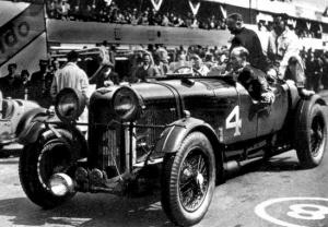 Lagonda #4 vencedor en 1935