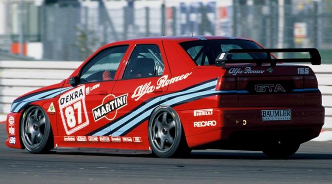 """<span class=""""entry-title-primary"""">Alfa Romeo 155 """"Tipo 167"""", 1992-1998</span> <span class=""""entry-subtitle"""">Sedán de 4 puertas obra de Ercole Espada para el Instituto IDEA</span>"""