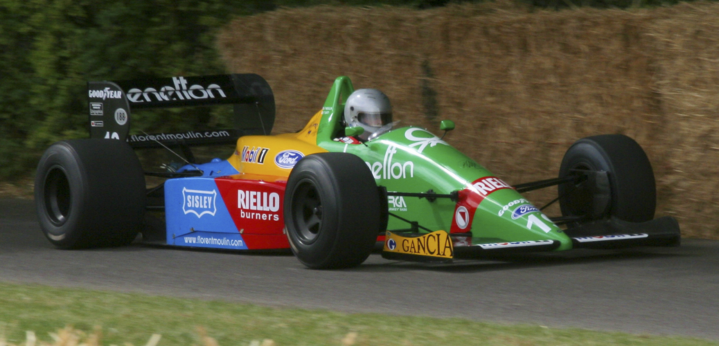 Benetton-Ford B188. Goodwood Festival of Speed 2009 © Todos los derechos reservados por Russell Whitworth