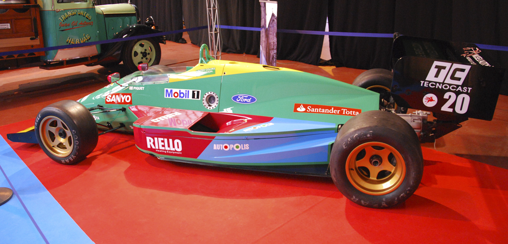 benetton ford b190 1990 gasolina super