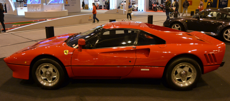 Ferrari 288 GTO. Foto: Aaron Castellano - Madrid Motor Days, Diciembre de 2013