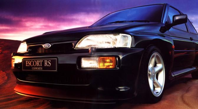 "<span class=""entry-title-primary"">Ford Escort RS Cosworth, 1992-1996</span> <span class=""entry-subtitle"">Berlina de 3 puertas diseñada por Stephen Harpery homologada para competir en WRC en FIA Grupo A</span>"