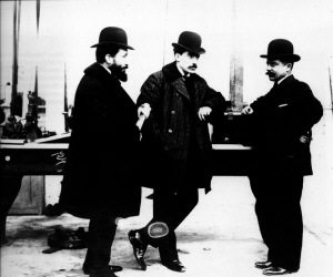 Louis,Marcel y Fernand Renault