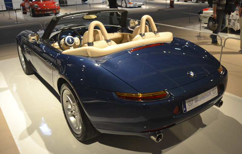 BMW Z8. Foto: Jose Ángel García Cerezo. Supercoches IFEMA Dic. 2011