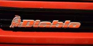 Lamborghini Diablo. Detalle trasero
