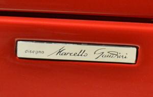 Lamborghini Diablo. Placa lateral Disegno Marcello Gandini