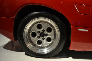 Lamborghini Diablo. Detalle llantas