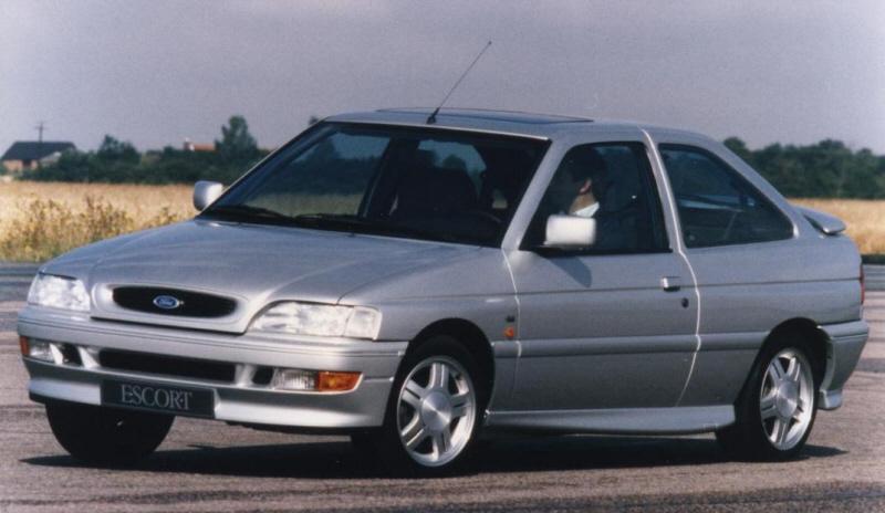Escort RS2000. Foto de catálogo