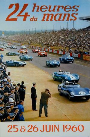 Poster Le Mans 1960