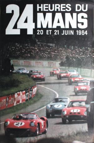 Poster Le Mans 1964