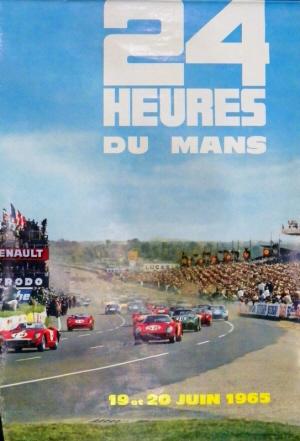 Poster Le Mans 1965