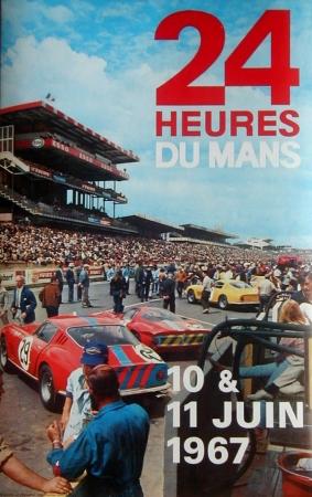 Poster Le Mans 1967