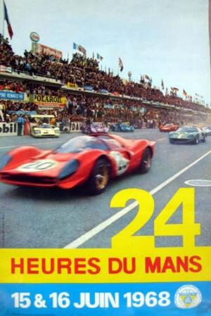 Poster Le Mans 1968