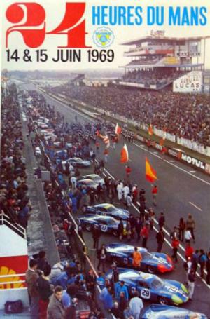 Poster Le Mans 1969
