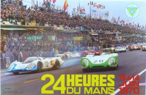 Poster Le Mans 1970