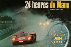 Poster Le Mans 1971
