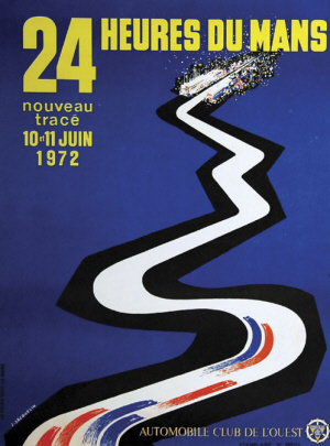 Poster Le Mans 1972