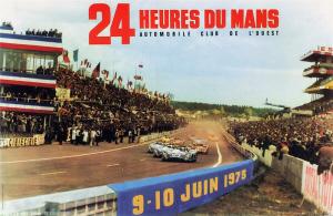 Poster Le Mans 1973
