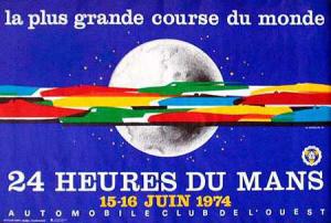Poster Le Mans 1974