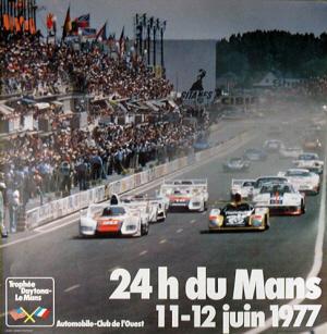 Poster Le Mans 1977
