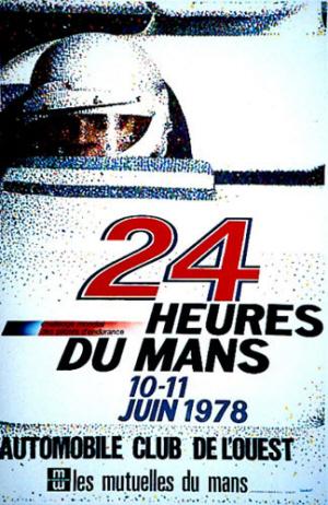 Poster Le Mans 1978