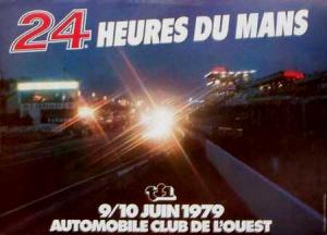 Poster Le Mans 1979