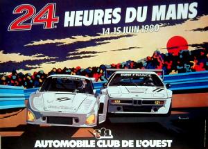 Poster Le Mans 1980