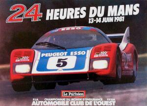 Poster Le Mans 1981