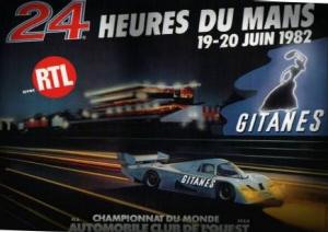 Poster Le Mans 1982