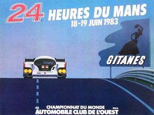Poster Le Mans 1983