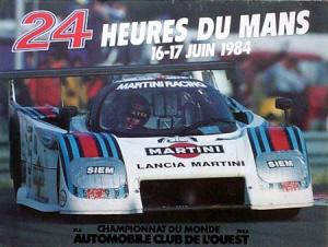 Poster Le Mans 1984