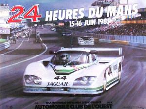 Poster Le Mans 1985