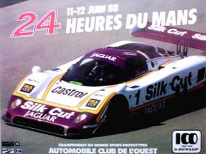 Poster Le Mans 1988