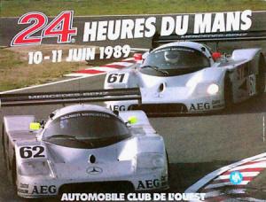Poster Le Mans 1989