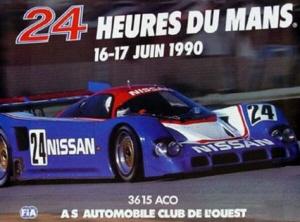 Poster Le Mans 1990