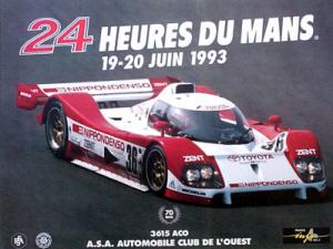Poster Le Mans 1993
