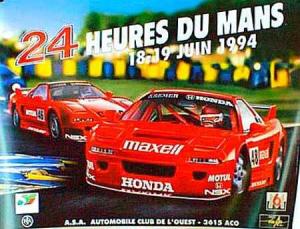 Poster Le Mans 1994