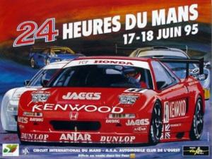 Poster Le Mans 1995