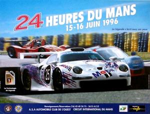 Poster Le Mans 1996