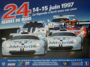 Poster Le Mans 1997