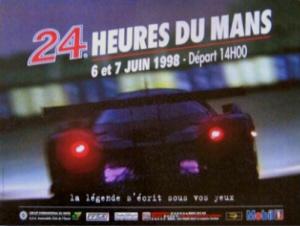 Poster Le Mans 1998