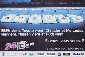 Poster Le Mans 1999