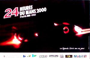 Poster Le Mans 2000